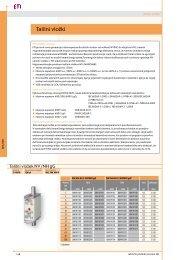 PDF NV Talilni vložki katalog ETI - Elektroklik