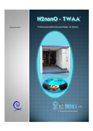 *Trinkwasseraufbereitungsanlagen im System