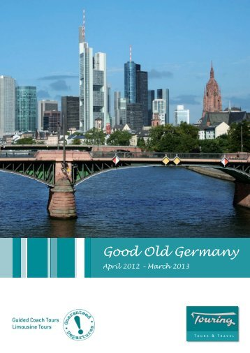Good Old Germany April 2012 – March 2013 - Trade Fair Travel