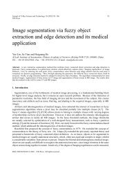 Image segmentation via fuzzy object extraction and edge detection ...