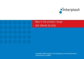 ISO-DRAIN 20 GEO - INTERPLAST Kunststoffe GmbH