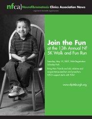 Join the Fun - Neurofibromatosis Clinics Association, Inc.