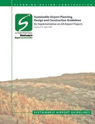 Sustainable Airport Planning, Design and Construction Guidelines