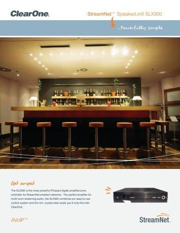 SLX300 Sales Brochure - ClearOne