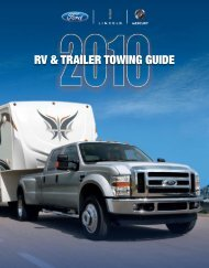 2010 Towing Guide - Ford Fleet