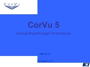 CorVu 5