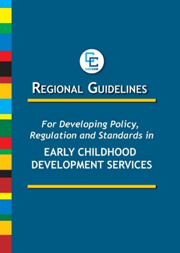Regional Guidelines for developing policy, regulations ... - Caricom