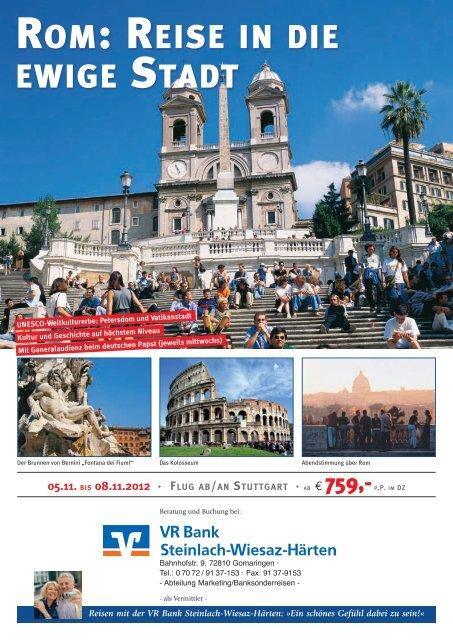 Rom - VR Bank Steinlach-Wiesaz-Härten eG