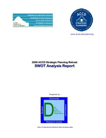 Department Of Accounting Swot Analysis  College Of Business