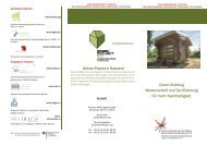 Projekt Flyer - Initiative Wohnungswirtschaft Osteuropa (IWO) eV