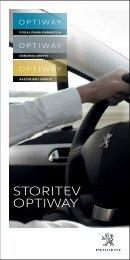 STORITEV OPTIWAY - Peugeot.si