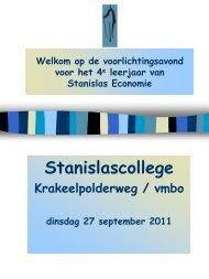 PSO in de basisvorming - Stanislas College