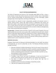 Position in Bioengineering1 - Universidad Adolfo Ibañez