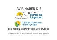 Uwe Kühn: Eine Region gestaltet die Energiewende - Volksbank ...
