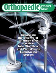 Orthopaedic Practice - Orthoworld