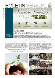 Boletin Mensual OCTUBRE - Iglesia Presbiteriana de Valparaiso
