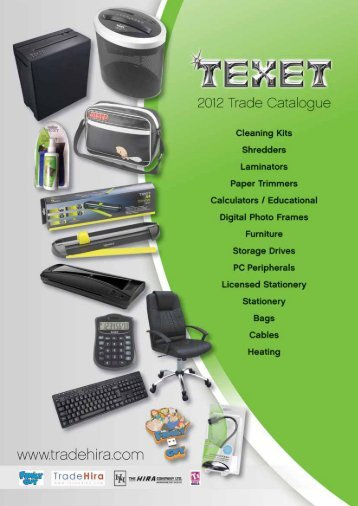 2012 Trade Catalogue - Tradehira.com