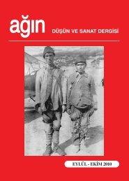 Eylul-Ekim son - Ankara Ağın Derneği