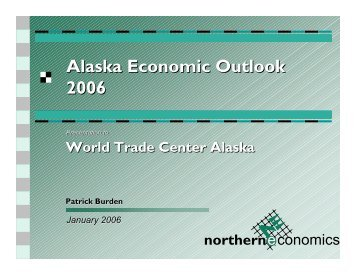 Statewide Economic Review and 2006 Forecast by Pat Burden ...