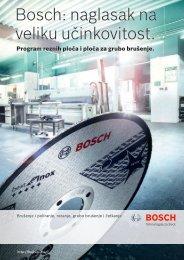 BOSCH Program reznih-brusnih ploča