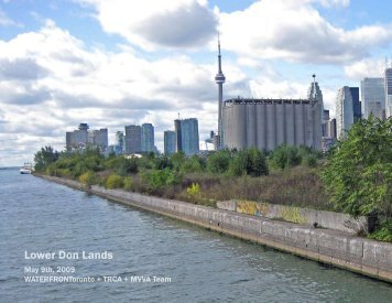 Lower Don Lands - Toronto and Region Conservation Authority