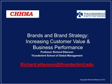 Brands and Brand Strategy