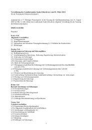 1 Verordnung des Landratsamtes Saale-Orla-Kreis ... - zgtonline.de