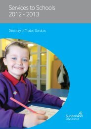 Traded services offered to maintained schools 2012/13