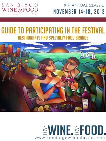 Guide to participating in the festival - San Diego Bay Wine and Food ...