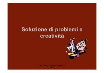 12_Soluzione problemi copia - Lettere e Filosofia