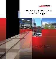 2007 Status Report - Transit-Oriented Development - Denver ...