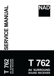 SERVICE MANUAL - PhilipsRadios.nl