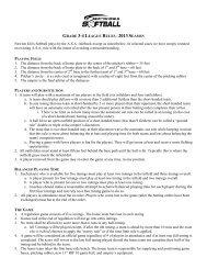 GRADE 3-4 LEAGUE RULES - 2013 SEASON Newton Girls Softball ...