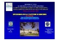 Epidemiologia e fattori di rischio