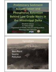 Download the presentation - Mississippi State University