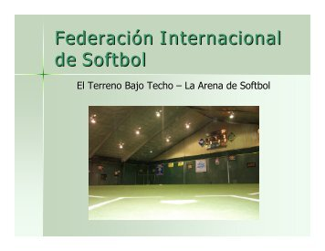 Softbol de Arena - ISF