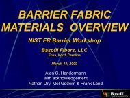 Barrier Fabric Materials Overview