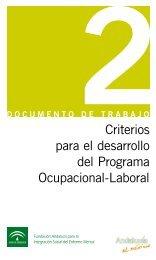 Documento de Trabajo nº 2 - Fundación Andaluza para la ...