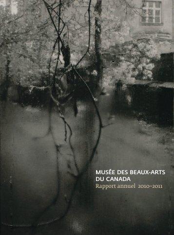 Rapport annuel 2010-2011 - Musée des beaux-arts du Canada