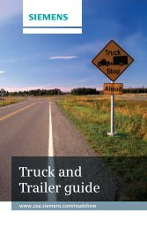 Truck and Trailer guide - Siemens