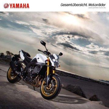 Gesamtübersicht Motorräder