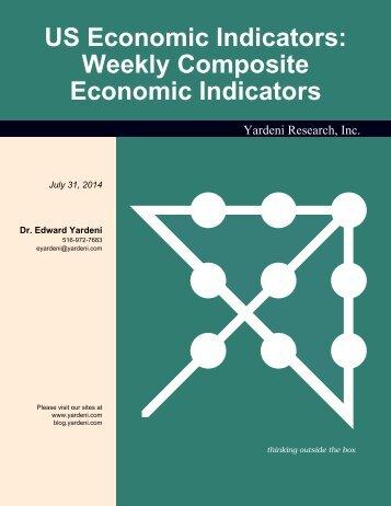 US Economic Indicators: Weekly Composite Economic Indicators