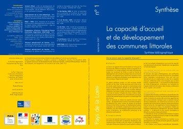 Synthèse de l'étude en 4 pages - DREAL des Pays de la Loire