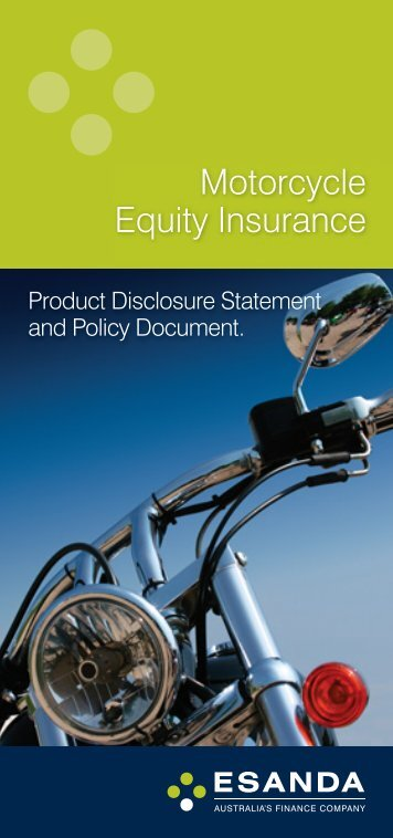 Motorcycle Equity Insurance - Stratton Finance