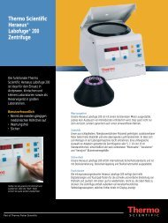 Thermo Scientific Heraeus® Labofuge® 200 Zentrifuge
