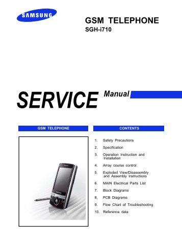 samsung sgh i600 service manual pdf mike channon rh yumpu com