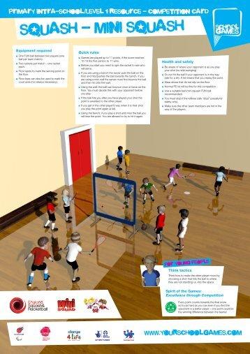 Squash Competition - School Games