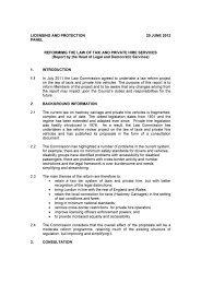Taxi Reform PDF 33 KB
