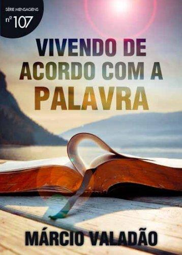 Vivendo de acordo com a Palavra - Lagoinha.com
