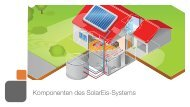 Komponenten des SolarEis-Systems